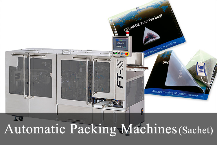 Automatic Packing Machines (Sachet)